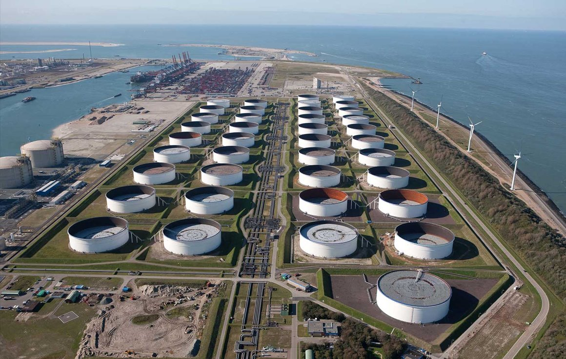 Maasvlakte Olie Terminal & SABA: like a well-oiled machine